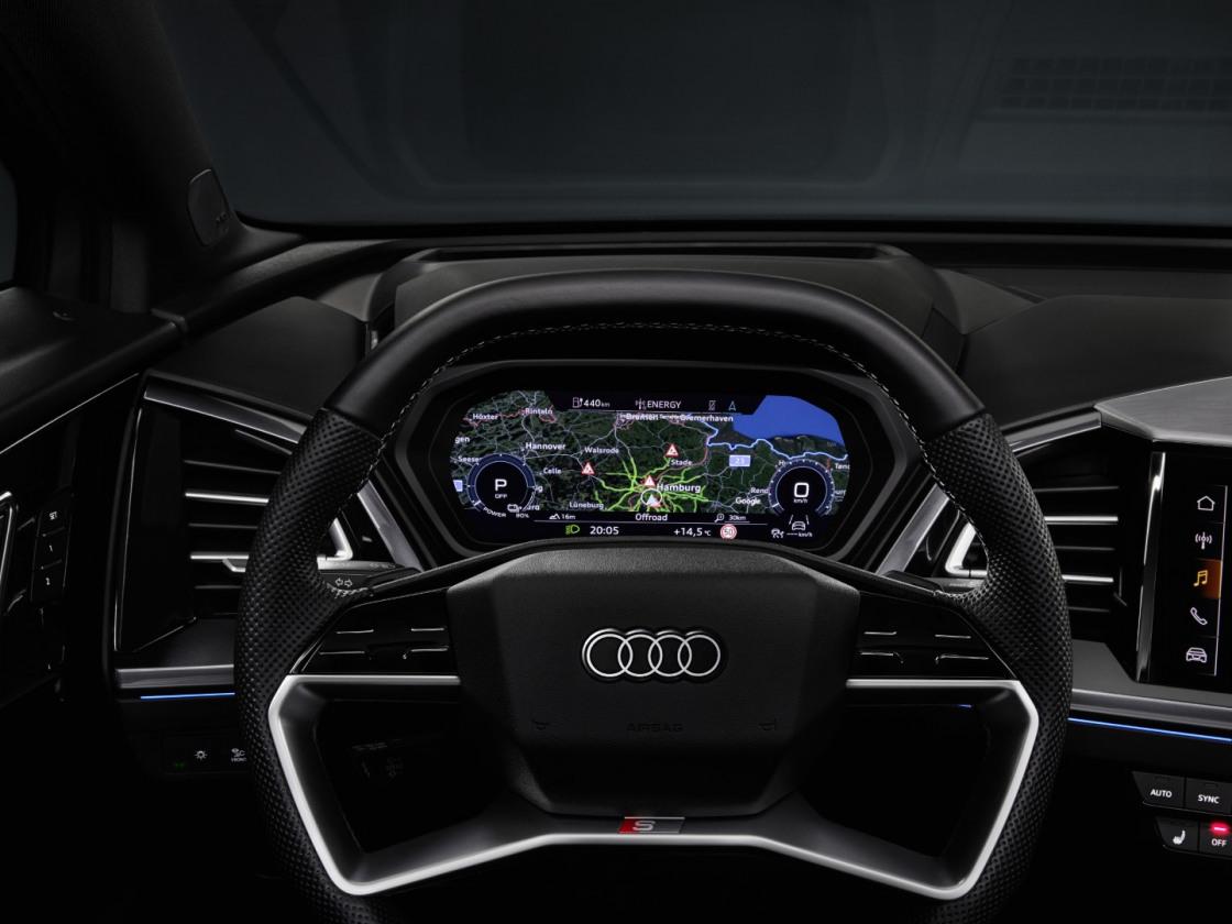 Audi Q4 e-tron interieur (2)