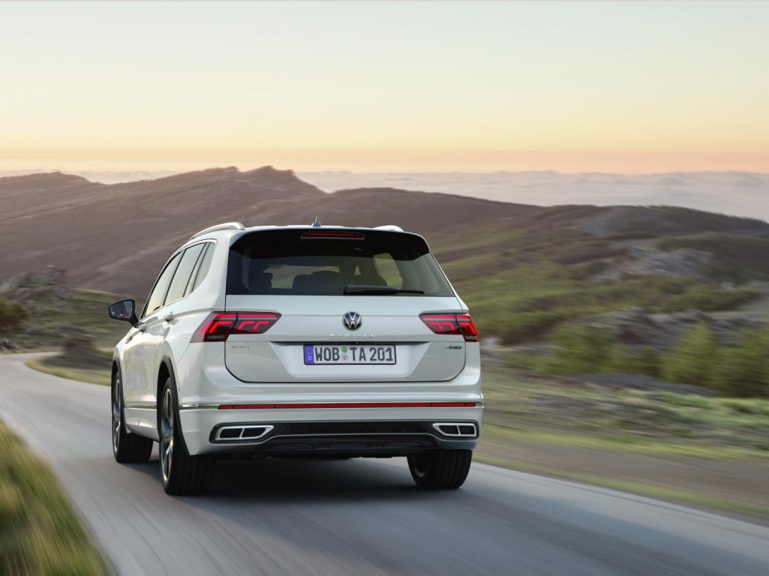 Volkswagen Tiguan Allspace 2021 facelift (16)