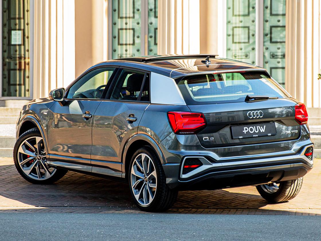 Pouw - Audi Q2 Achterkant