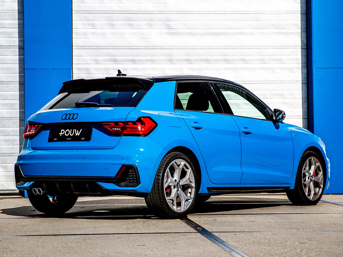 Pouw - Audi A1 Achterkant