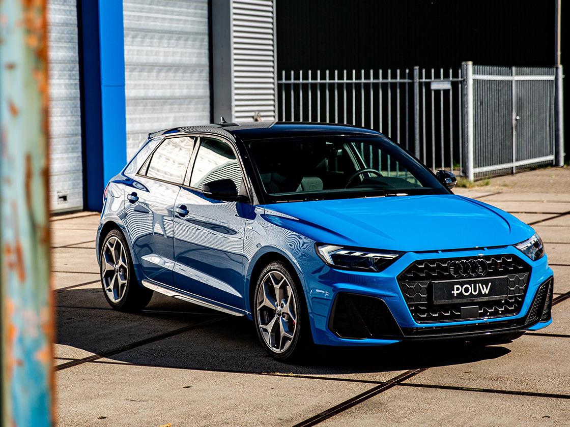 Pouw - Audi A1 Zijkant