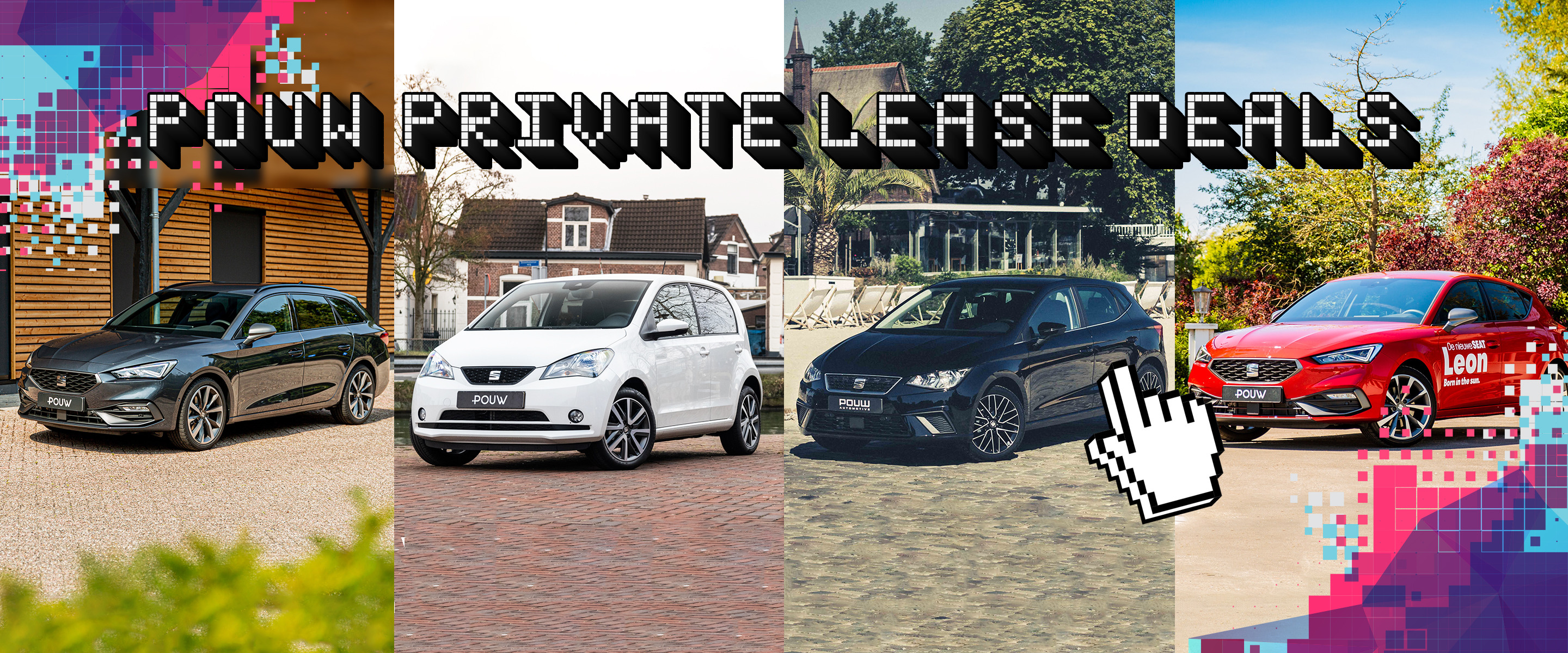 Private lease deals - SEAT Banner
