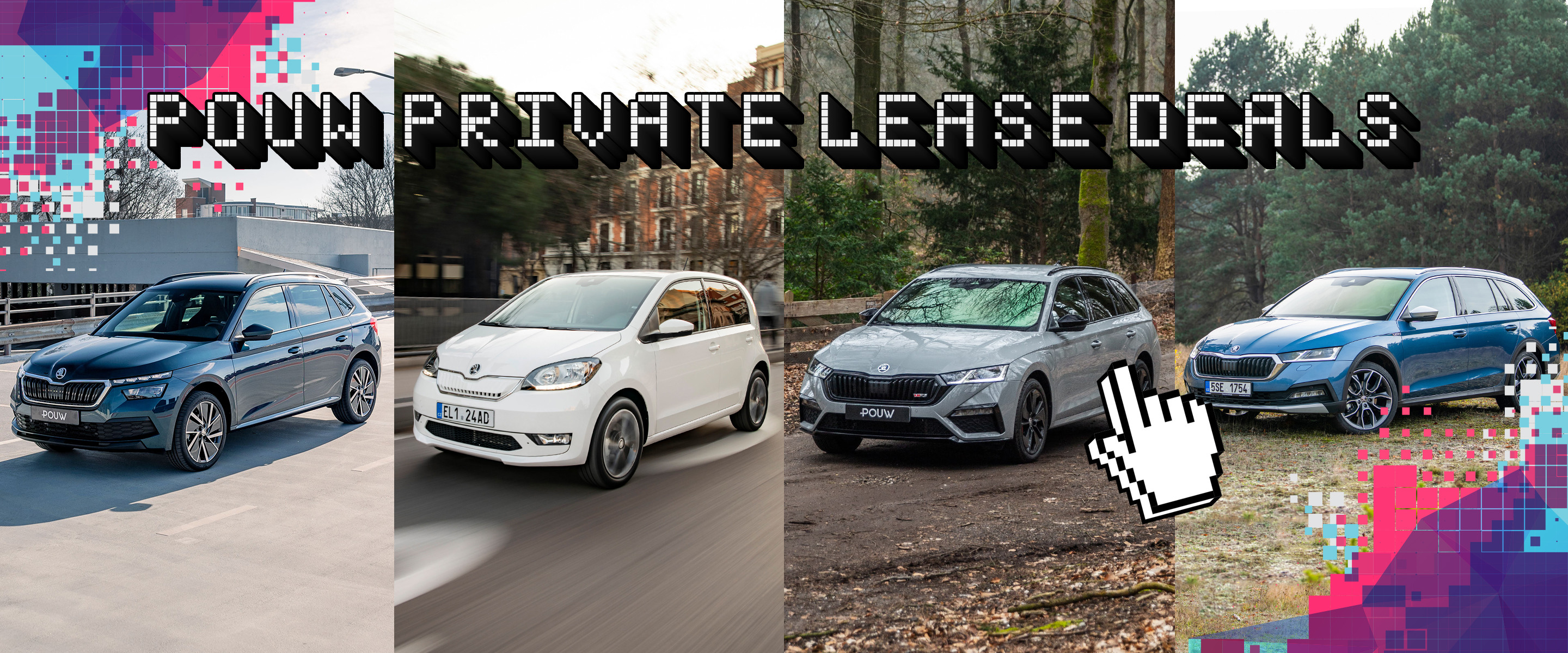 Private lease deals - SKODA Banner