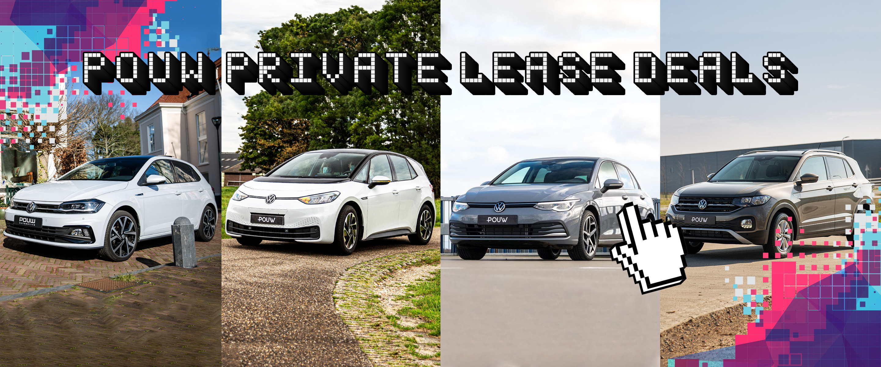 Private lease deals - VW Banner