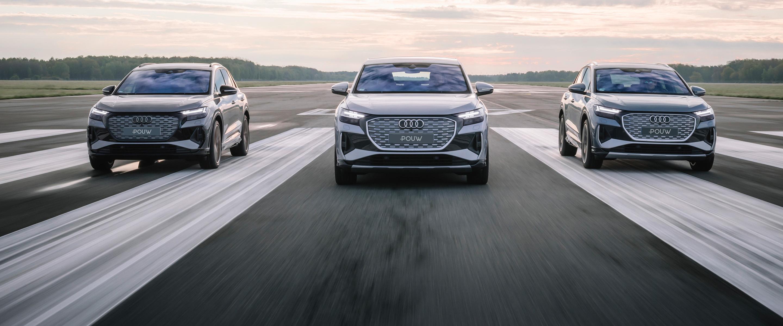 Pouw Audi Q4 e-tron onderaan pagina