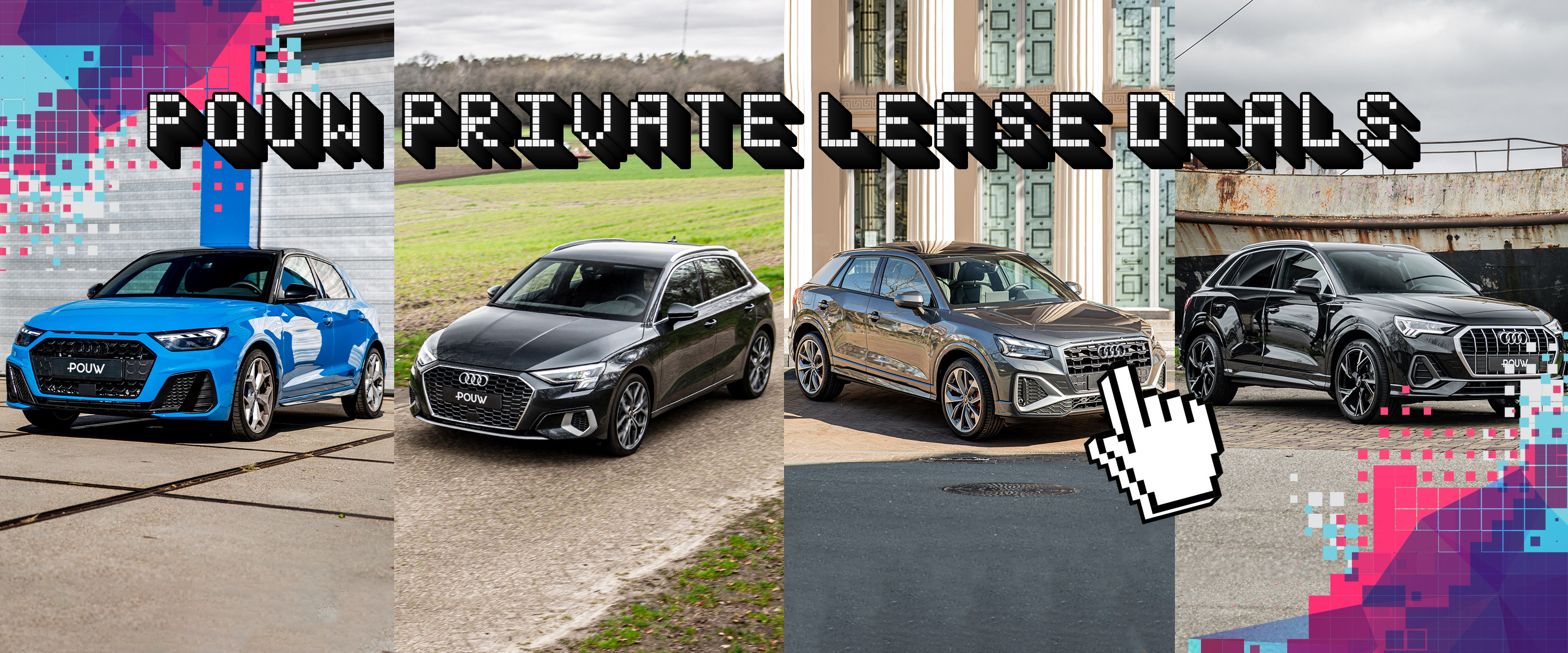 Private lease deals - Audi Banner