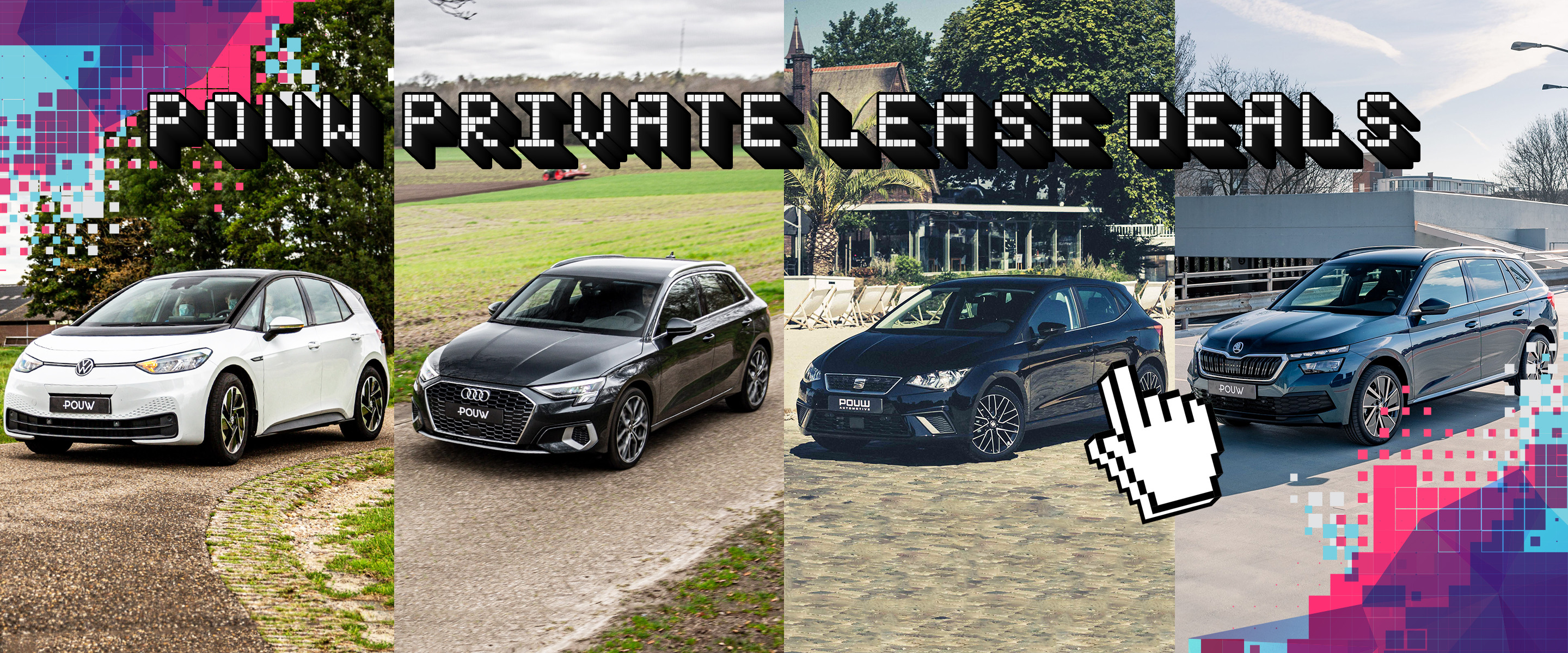 Private lease deals - Homepage banner