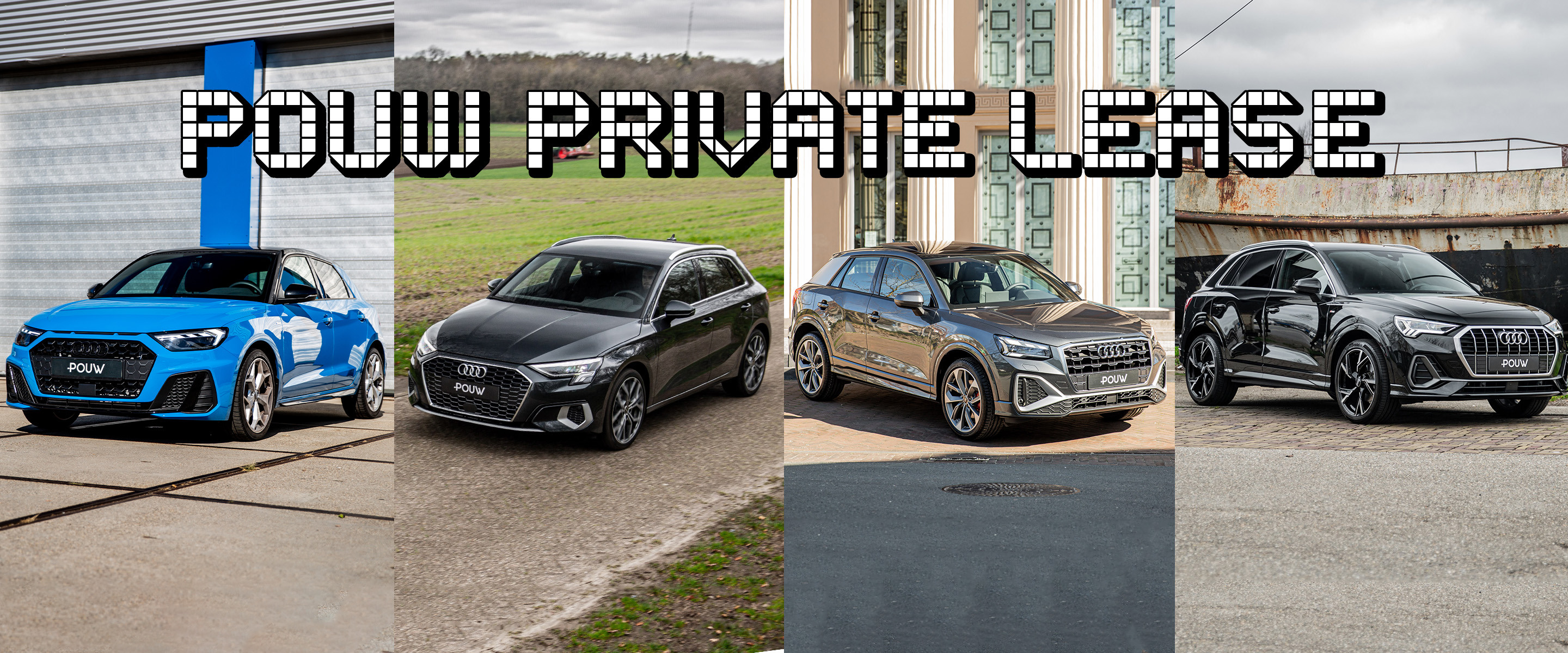 Private lease - Banner algemeen Audi