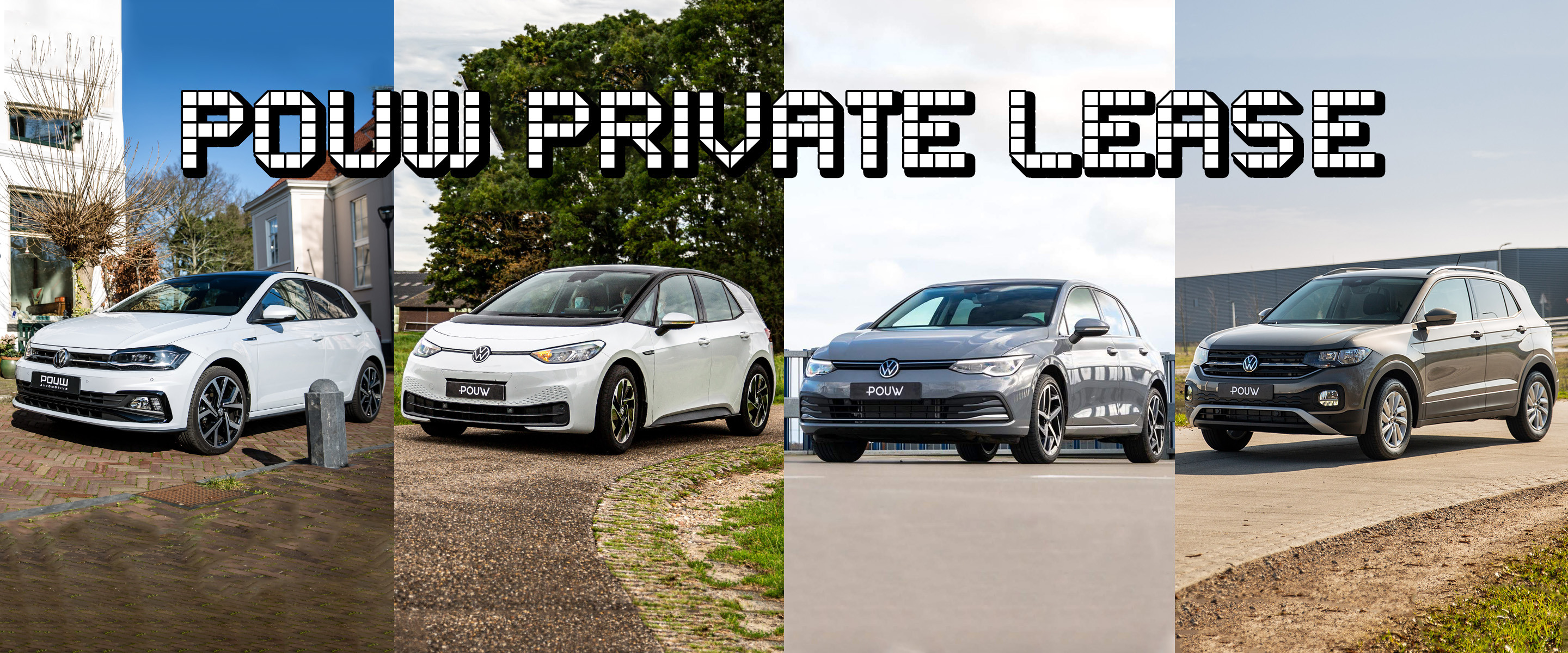 Private lease - Banner algemeen VW