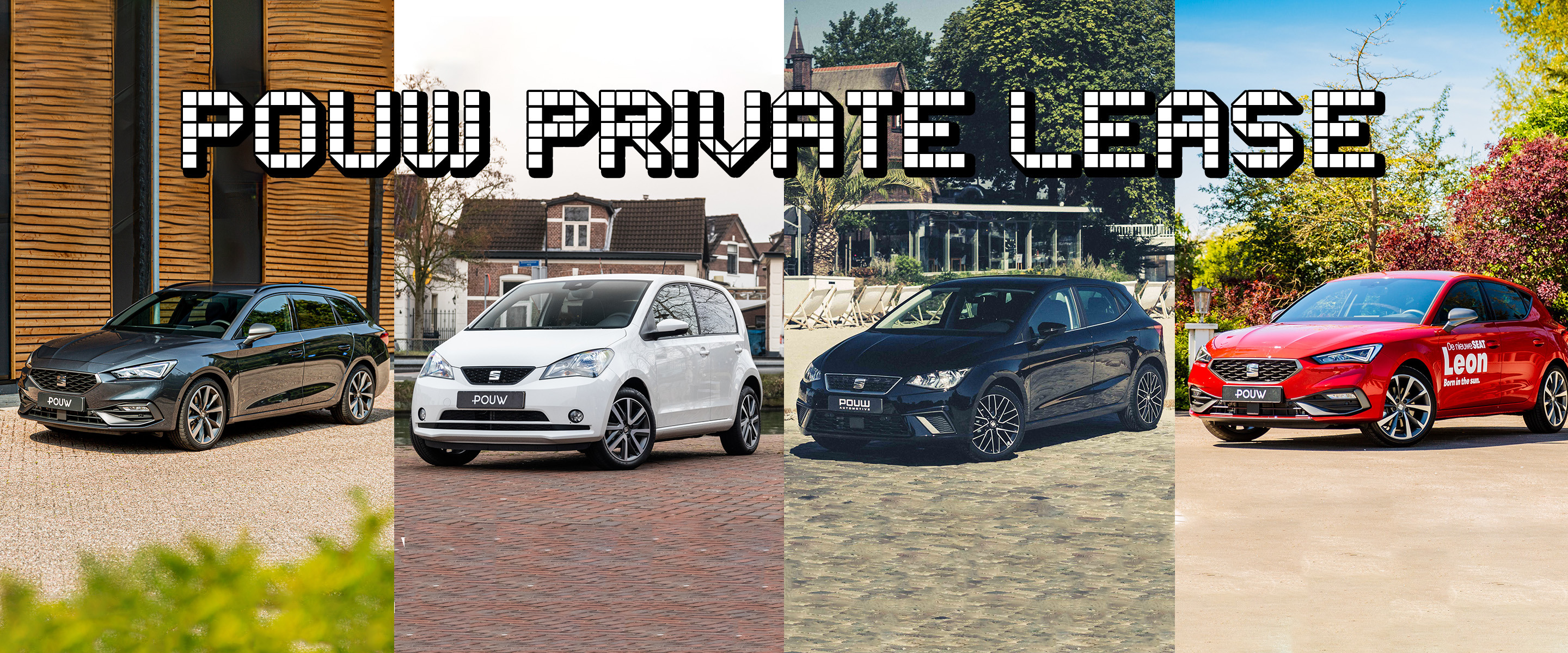 Private lease - Banner algemeen SEAT