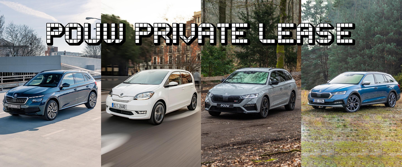 Private lease - Banner algemeen SKODA