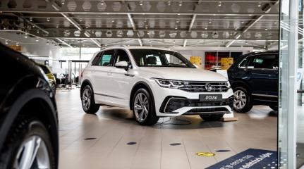 De Volkswagen Tiguan Facelift 2020.