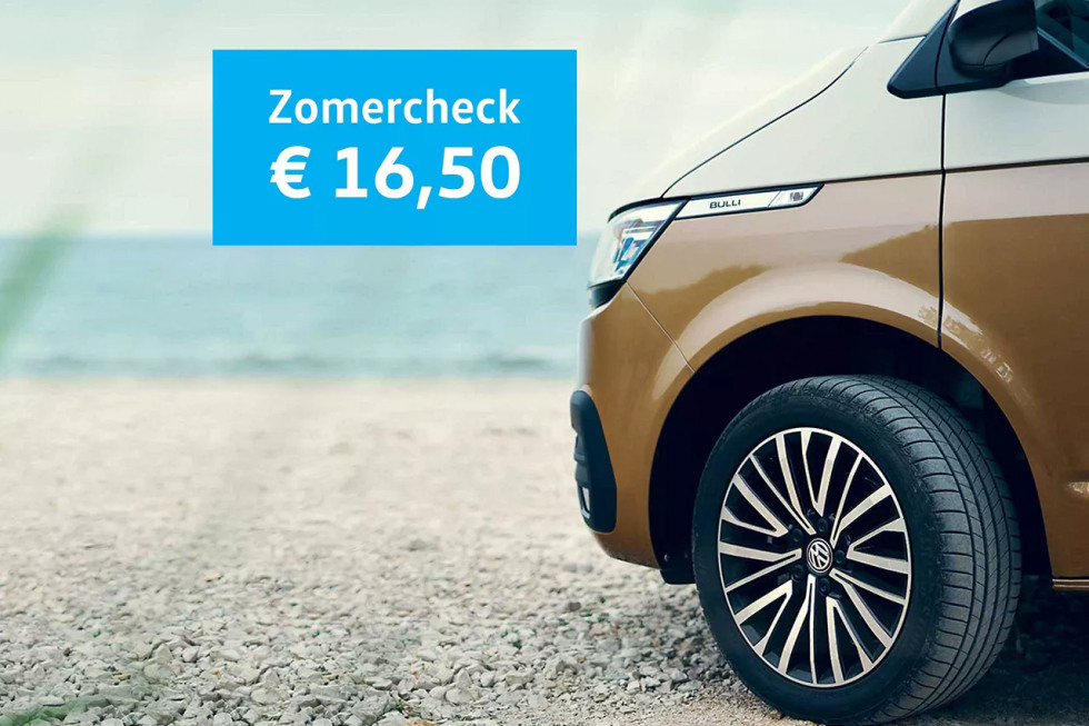 VW Bedrijfswagen-zomercheck
