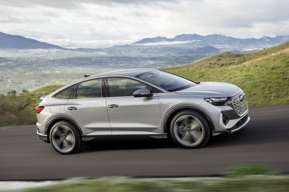 Audi Q4 e-tron Sportback 2021 (4)