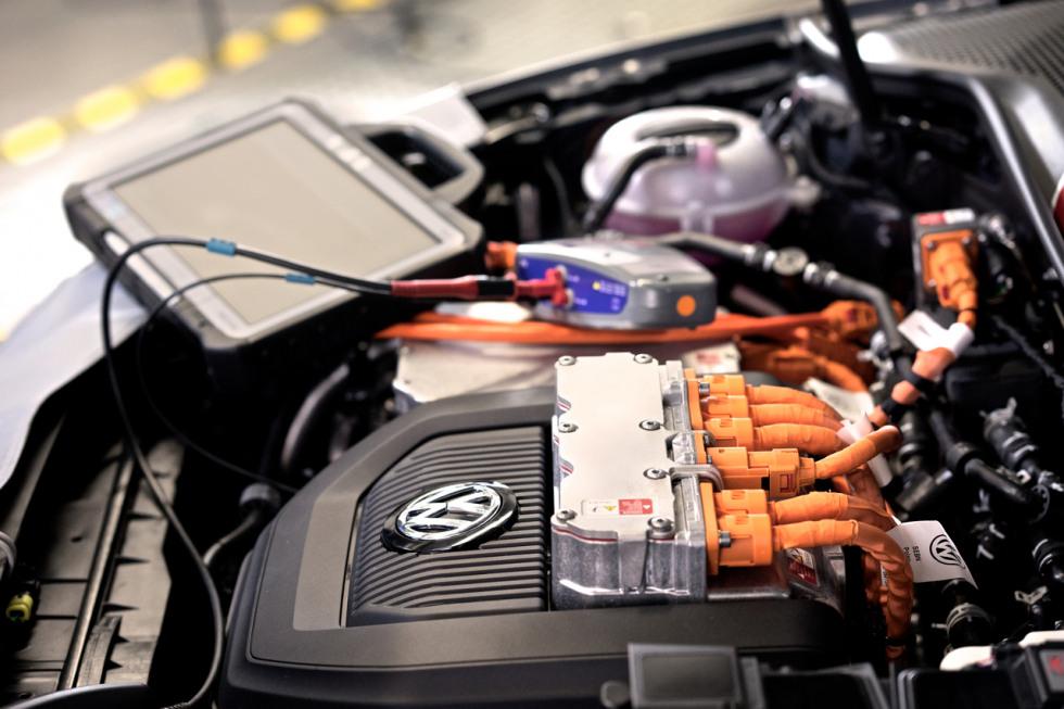VW motor onderhoud elektrisch